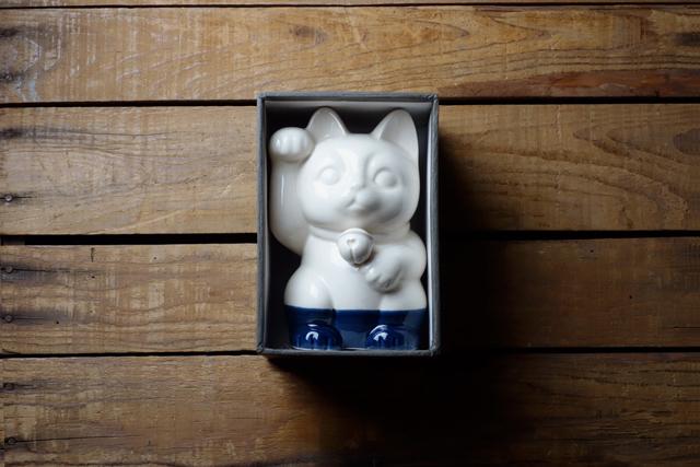 m.m.d. / 招き猫 / 瀬戸焼
