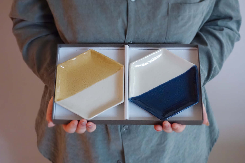m.m.d. / 取皿2枚セット ギフトボックス&熨斗付き / true colors line